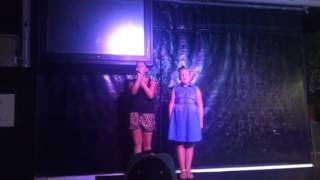 Casey singing it's all coming back to me now. Celine dion