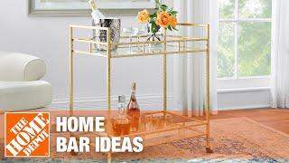 Home bar ideas.