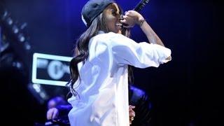 Angel Haze - Werkin' Girls at 1Xtra Live 2013