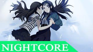 【Nightcore】 Drag Me Down  | Lyrics