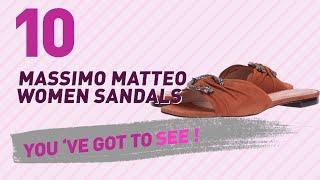 Massimo Matteo Women Sandals // New & Popular 2017