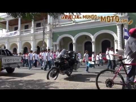 La vuelta al mundo en moto: Nicaragua Honduras Salvador Guatemala