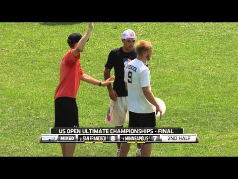 Video Thumbnail: 2014 U.S. Open Club Championships, Mixed Final: Minneapolis Drag'n Thrust vs. San Francisco Polar Bears