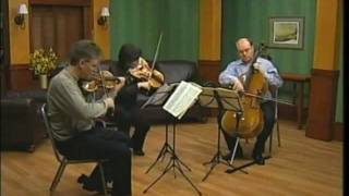 The Aspen String Trio: Schubert String Trio in Bb, D. 581 - Movement 1:  Allegro moderato