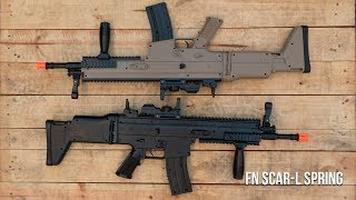 Review do Rifle de Airsoft Spring FN Scar-L  -  Ventureshop