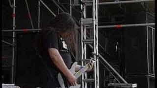 Fear Factory - Martyr (Music video with live performance audio)