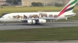 Pousa em Guarulhos o maior Avião de passageiro do mundo