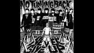 No Turning Back  - This Time