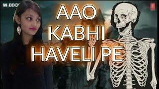 Aao Kabhi Haveli Pe Video | STREE | Kriti Sanon | Badshah, Nikhita Gandhi, Sejal srivastava