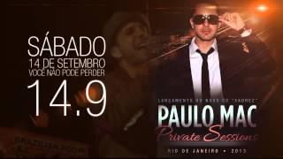 """Teaser - Dia 14.09 - Show de lançamento - Paulo Mac ® Novo CD """" Xadrez"""" 2013"""
