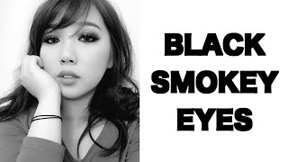 BLACK SMOKEY EYE