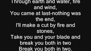 Iron Maiden - Sun and Steel Lyrics