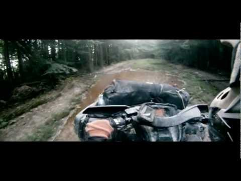 ATV квадроциклы Mountains and mud 2012 BRP Can-Am Outlander 1000, Yamaha Grizzly 700