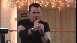 Mike Quackenbush challenges Chris Hero [CHIKARA Speaking in Tongues]