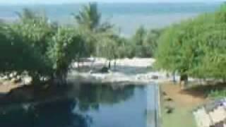 Tsunami live recording from a hotel