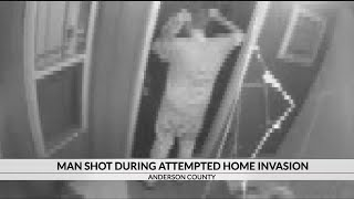 Man shot during attempted home invasion in Anderson, deputies say