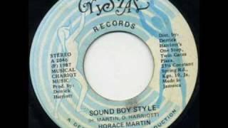 Horace Martin - Sound Boy Style (Youthman Riddim)