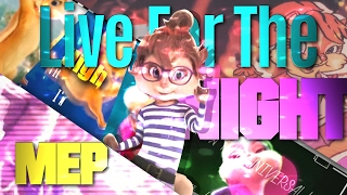 The Chipettes -  Live For The Night [FULL MEP]