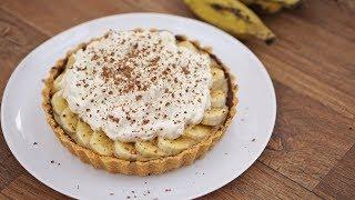 TORTA DE BANANA COM DOCE DE LEITE (BANOFFEE PIE)