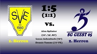 Highlights SV Epenwöhrden vs. SG Geest 05 II - 07.08.2016