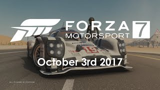 Forza Motorsport 7 - XBOX One X - E3 2017 - 4K Announce Trailer