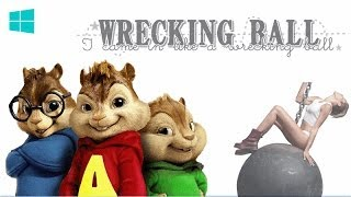 Alvin & Las Ardillas - Wrecking Ball (Alvin And The Chipmunks) 2014