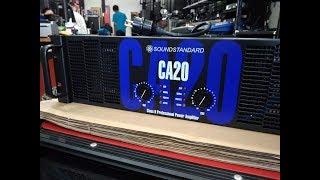 CA 20 Amplifier unboxing 5000watt, power Amplifier,bass Amplifier, soundstandard CA20