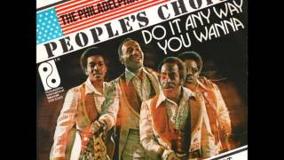 Peoples Choice - Do It Anyway You Wanna