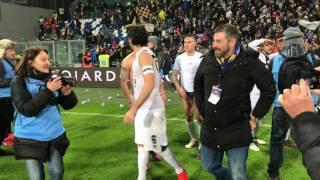 Reggiana-Parma 0-2, il finale con l'abbraccio Lucarelli-Ferrari