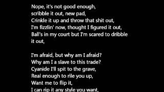 Eminem - Rabbit Run [Lyrics on Screen] Full & Uncensored