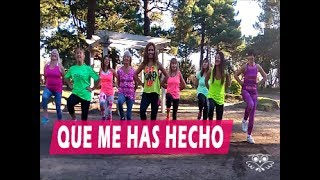 """""""Que me has hecho"""" Chayanne feat. Wisin - ZIN Silvina Flores - Zumba® Fitness -"""
