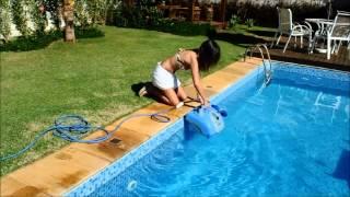 O robô que limpa sua piscina sozinho - Robot XT5 Sibrape Pentair
