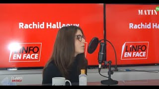 L'Info en Face, parole aux jeunes avec Yasmine Lahlou