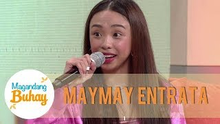 Maymay reveals that she's taking care of her half-brother | Magandang Buhay
