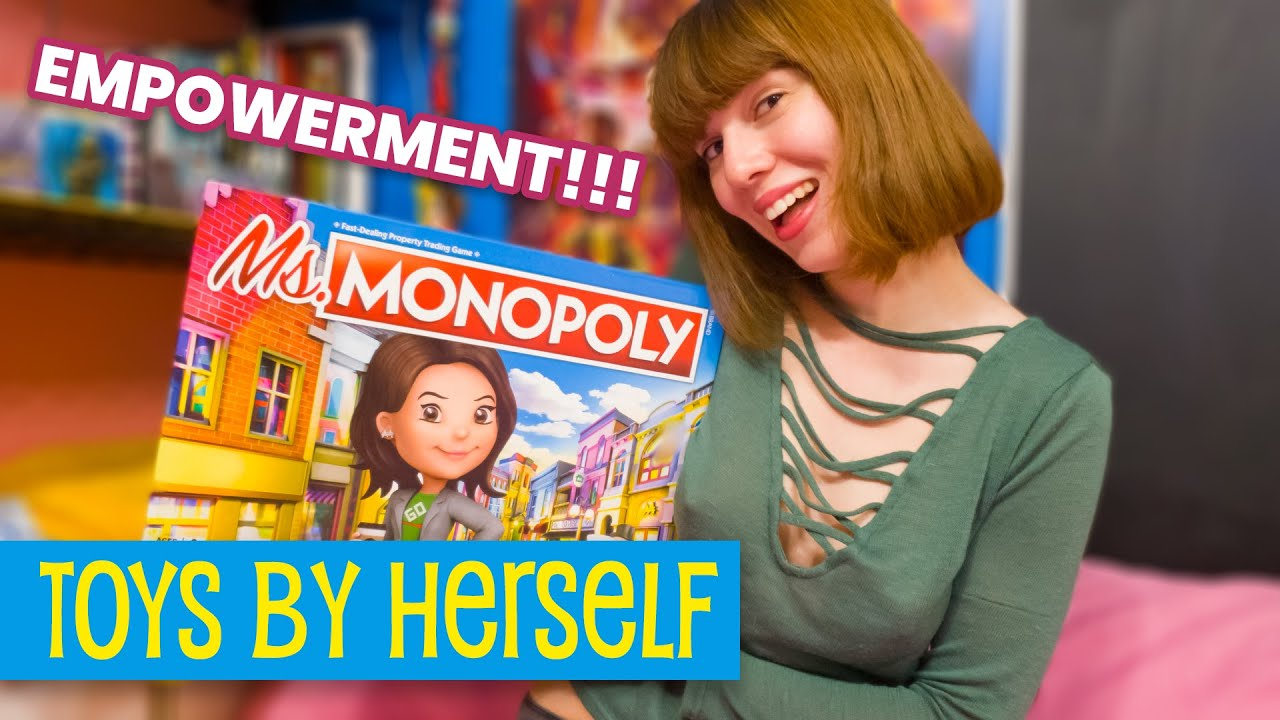 FEMINIST EMPOWERMENT Fun Money Game AKA Ms. Monopoly • Toys by Herself