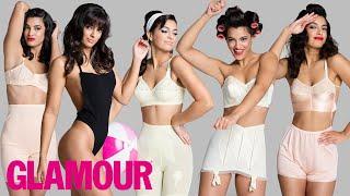 100 Years of Women's Underwear l Beauty & Style l Glamour
