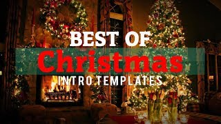 Best 6 Free Christmas Intro Templates 2017 After Effects, No Text, Sony Vegas & Blender