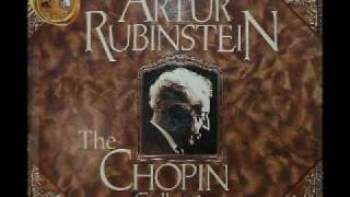 Arthur Rubinstein - Chopin Prelude, No. 8, Op. 28 in F sharp minor