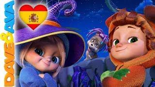 🎃Canciónes de Halloween | Canciones Infantiles | Dave y Ava 🎃