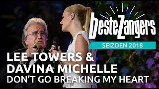 Lee Towers & Davina Michelle - Don't go breaking my heart | Beste Zangers 2018