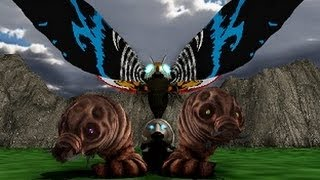 MMD Godzilla - Mothra's Revenge Trailer (Forgotten)