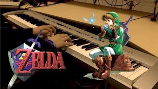 "Legend of Zelda: Ocarina of Time - ""Song of Storms"" [Piano Cover] 