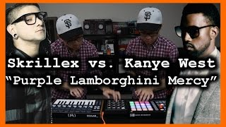 Purple Lamborghini Mercy - Skrillex / Kanye West MASHUP