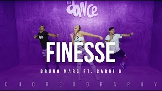 Finesse - Bruno Mars Ft. Cardi B | FitDance Life (Choreography) Dance Video