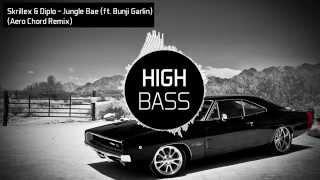 Skrillex & Diplo - Jungle Bae (ft. Bunji Garlin) (Aero Chord Remix) (Bass Boosted)