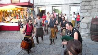 Guimarães 2012 - Festa Afonsina - Concerto de Rua