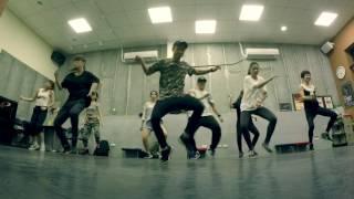 "2016.11.18 Bryan teach "" Vybz Kartel - In Heaven "" Dancehall Class"