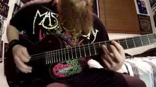 Crystal Skull - Mastodon guitar cover