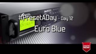 #PresetADay - Euro Blue - AXE FX II / AX8 Rhythm and Solo Patches