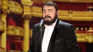 Bora Drljaca kao Pavaroti - FS - (TV Prva 17.12.2014.)